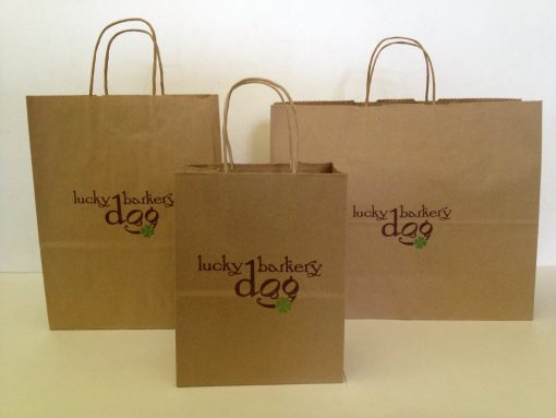 Paper Shopping Bags Natural Kraft-201