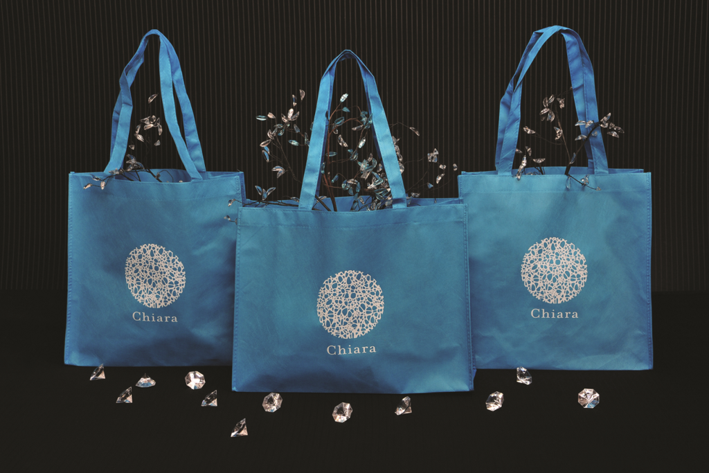 100 Recycled Printed Bags